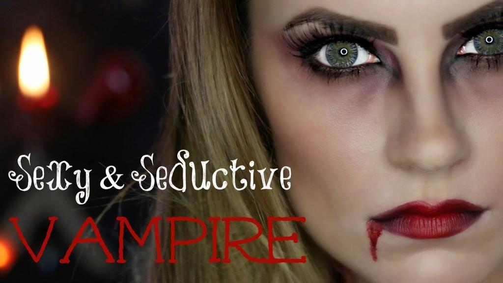 VIDEO: Sexy, Seductive Vampire Halloween Makeup Tutorial!