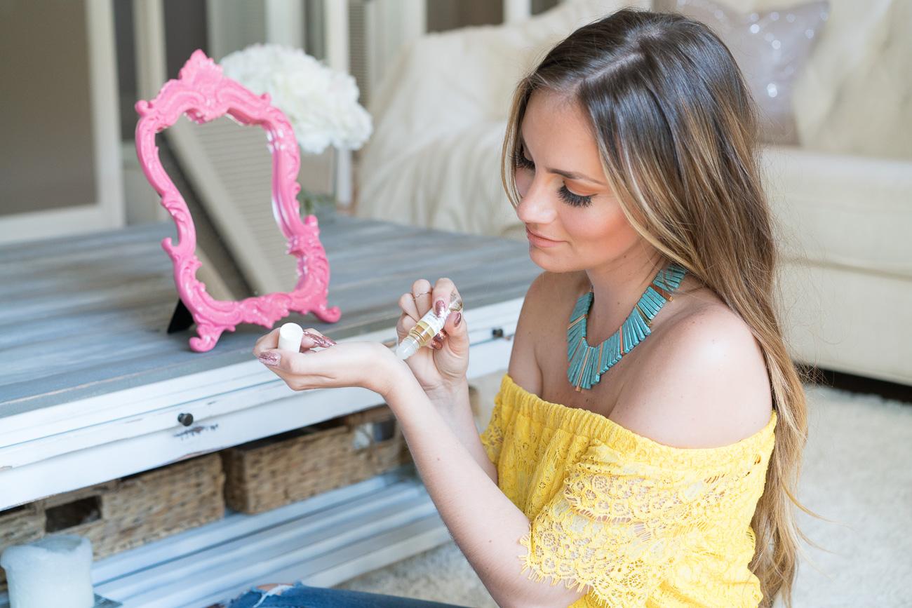 EWG Verified Just the Goods Vegan Perfume Oil Angela Lanter Hello Gorgeous