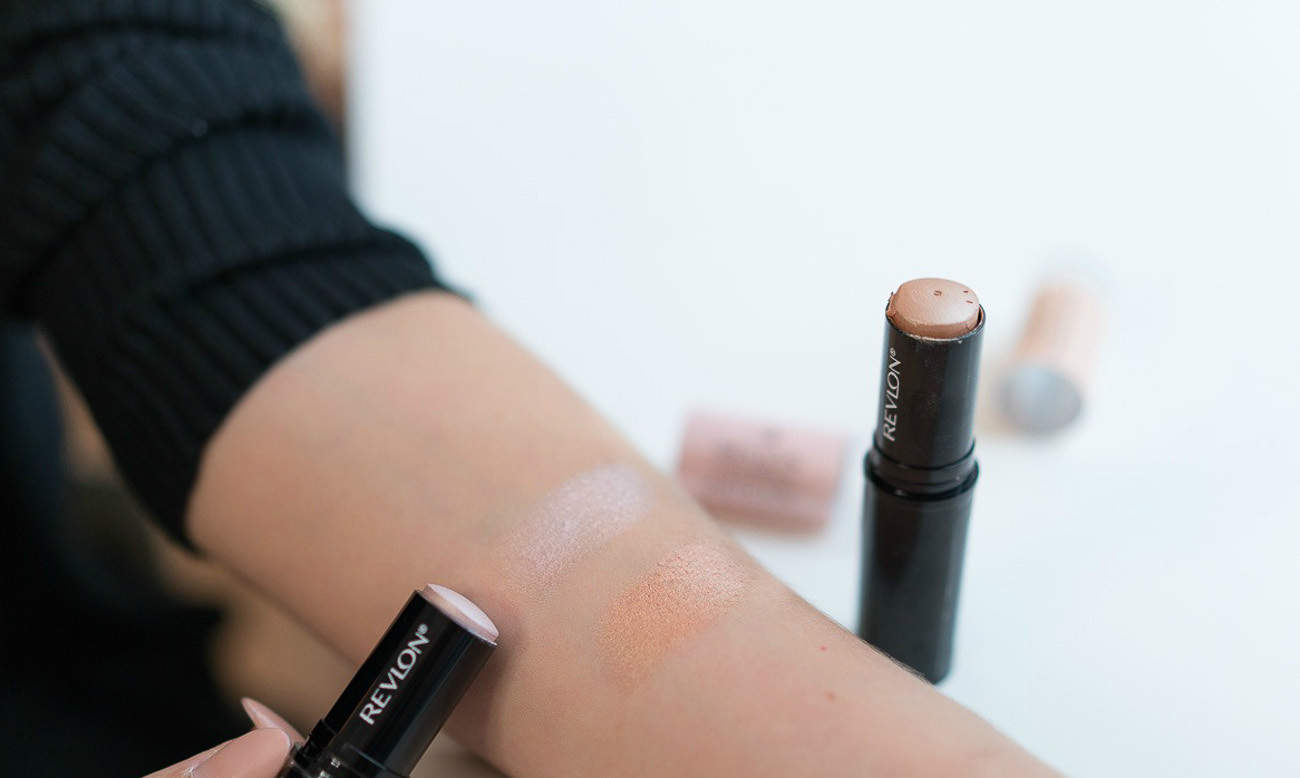 how to highlight with drugstore highlighter under $15 PhotoReady Instafix Highlighter Stick angela lanter hello gorgeous 10 minute morning makeup routine