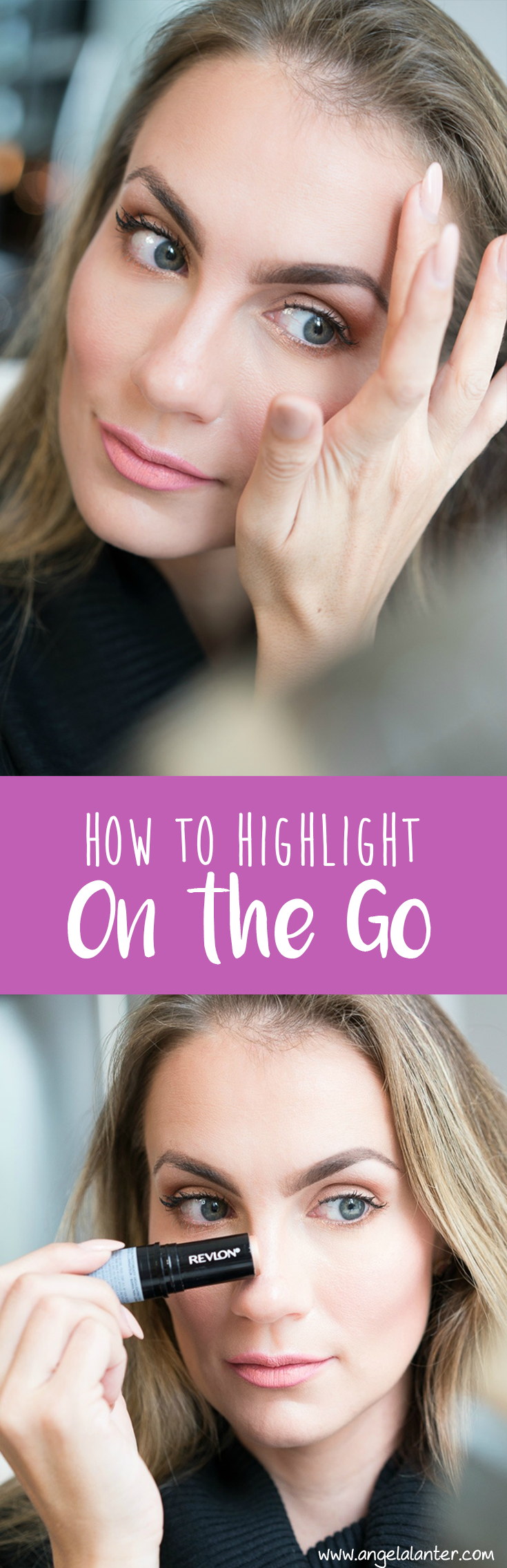 How to highlight on the go by Angela Lanter - Hello Gorgeous