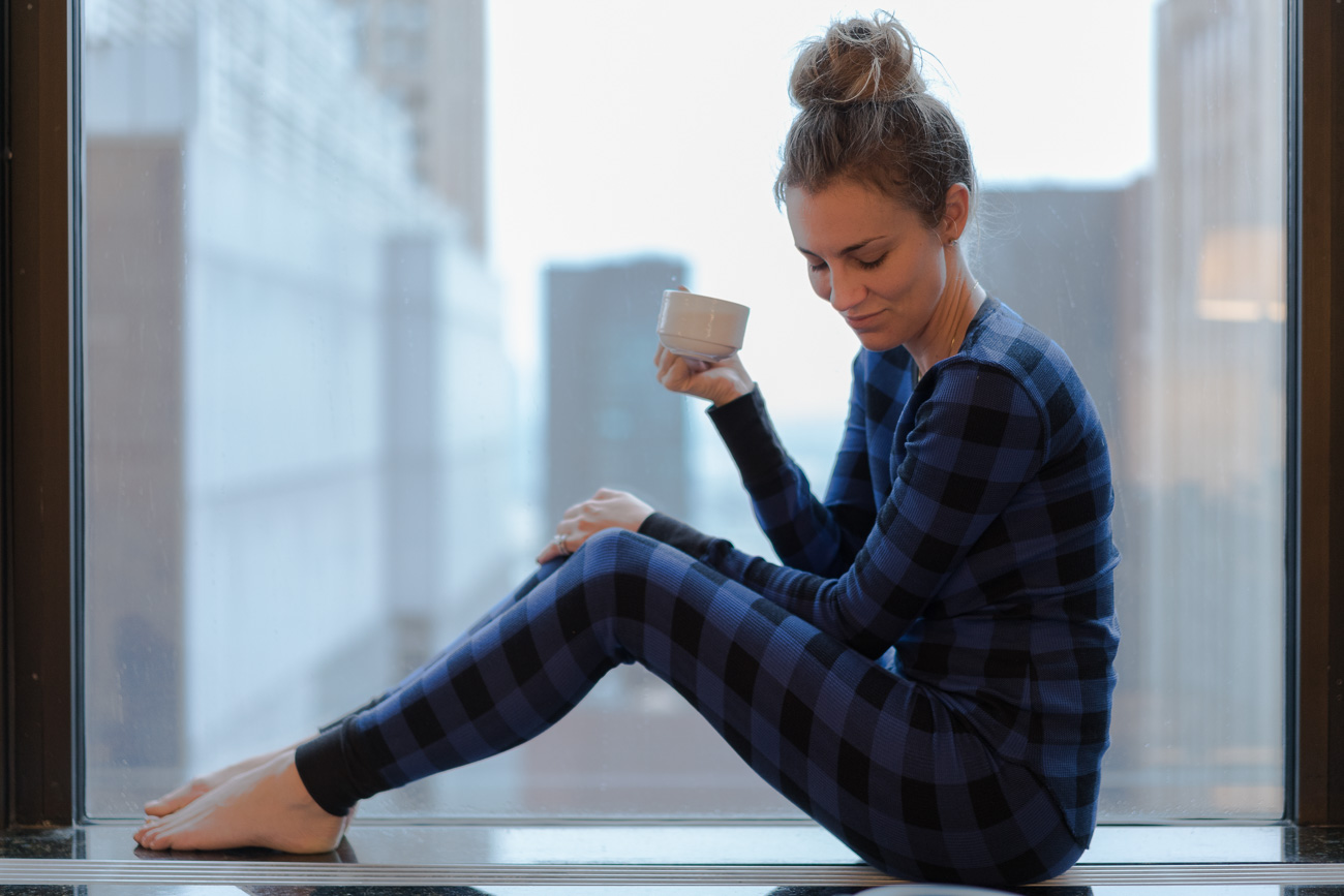 girl talk tuesday: things successful women do every day old navy plaid thermal pajamas angela lanter hello gorgeous