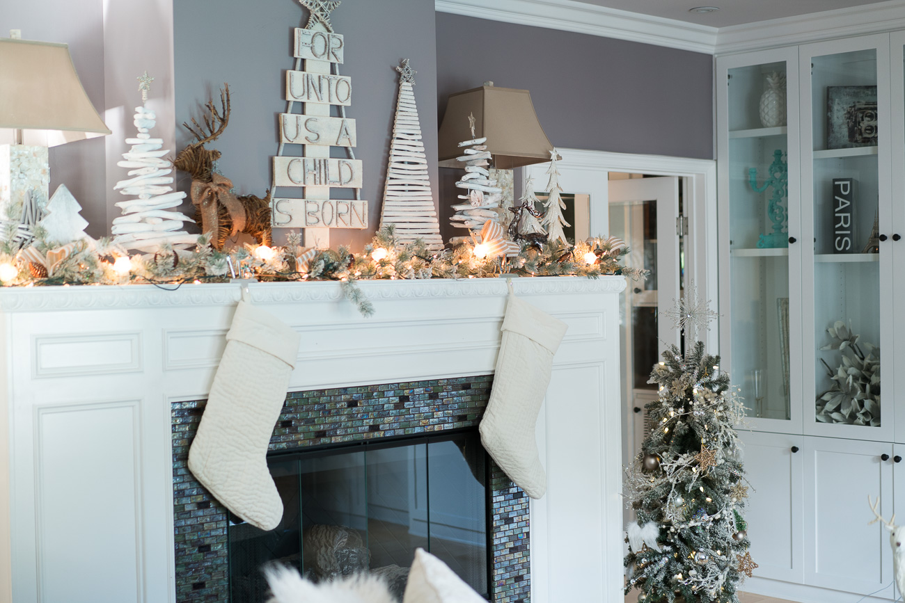 Christmas Home Tour decor angela lanter hello Gorgeous