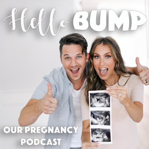 Matt and Angela Lanter Pregnancy Announcement Baby Lanter on the way we're pregnant hello gorgeous hello bump podcast
