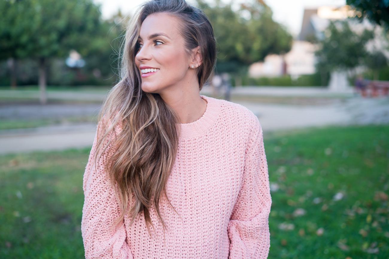 ASOS maternity sweater third trimester Angela Lanter Hello Gorgeous