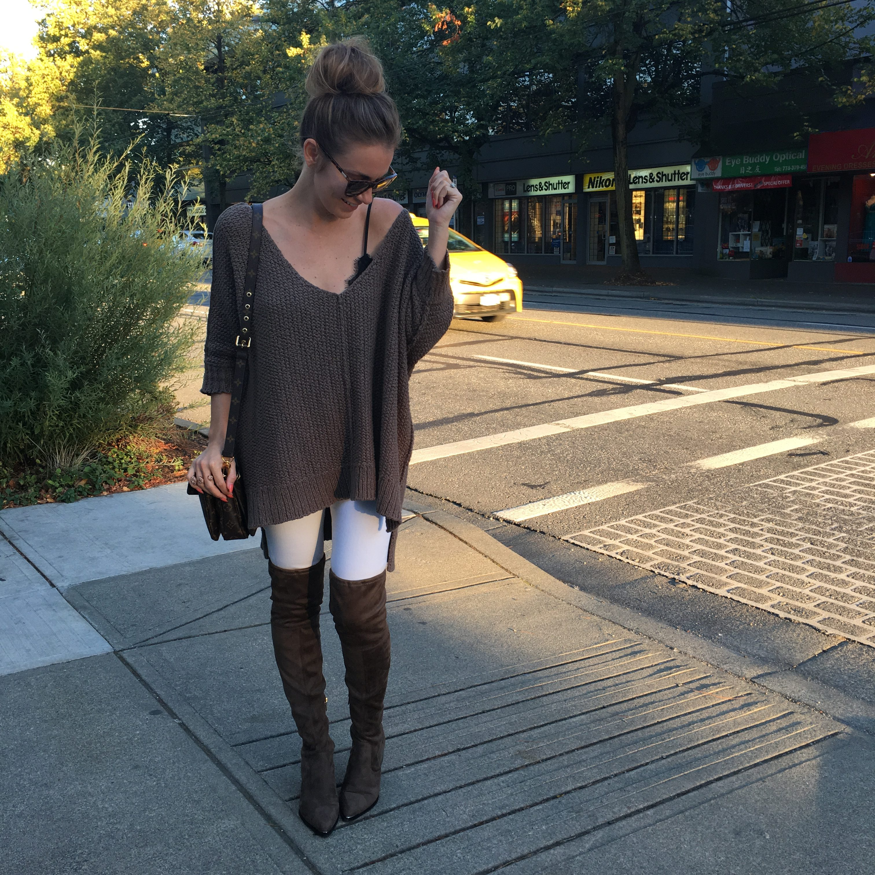 Over-The-Knee Boot Outfits To Copy For Fall