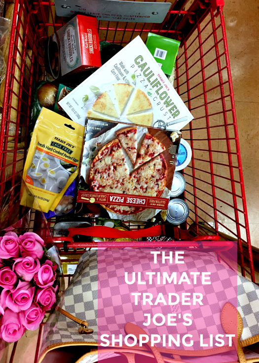 the ultimate trader joe's shopping list