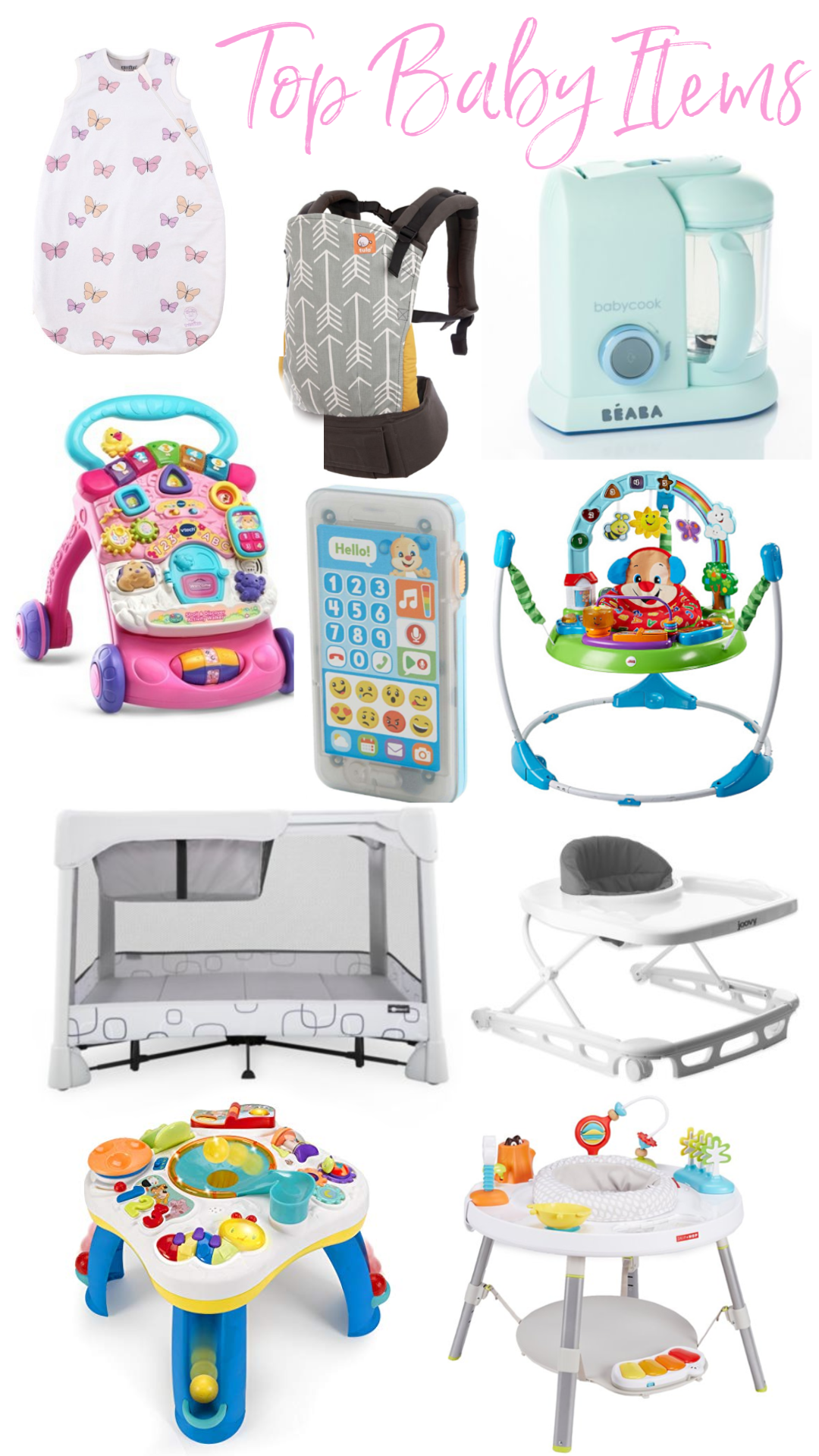 Our Favorite Baby Products 6-12 Months