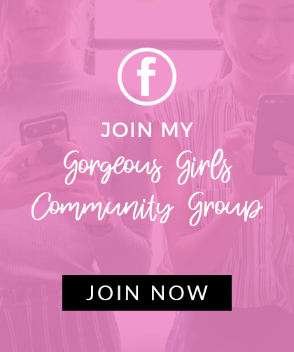 Gorgeous Girls Community on Facebook, by Angela Lanter