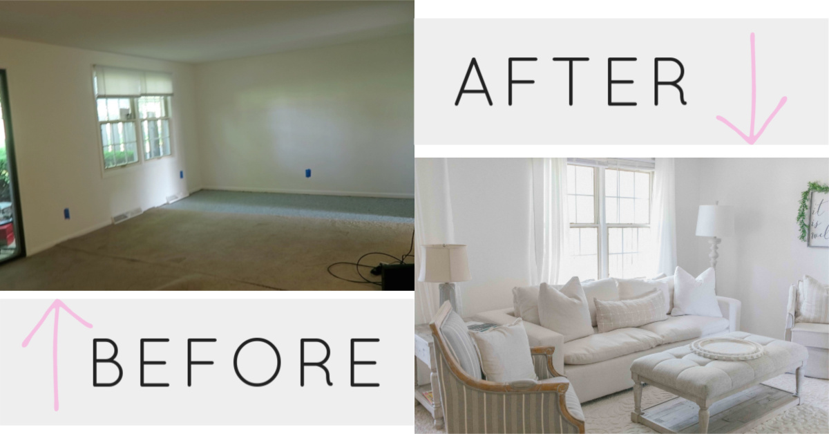 Townhouse Living Room Reveal