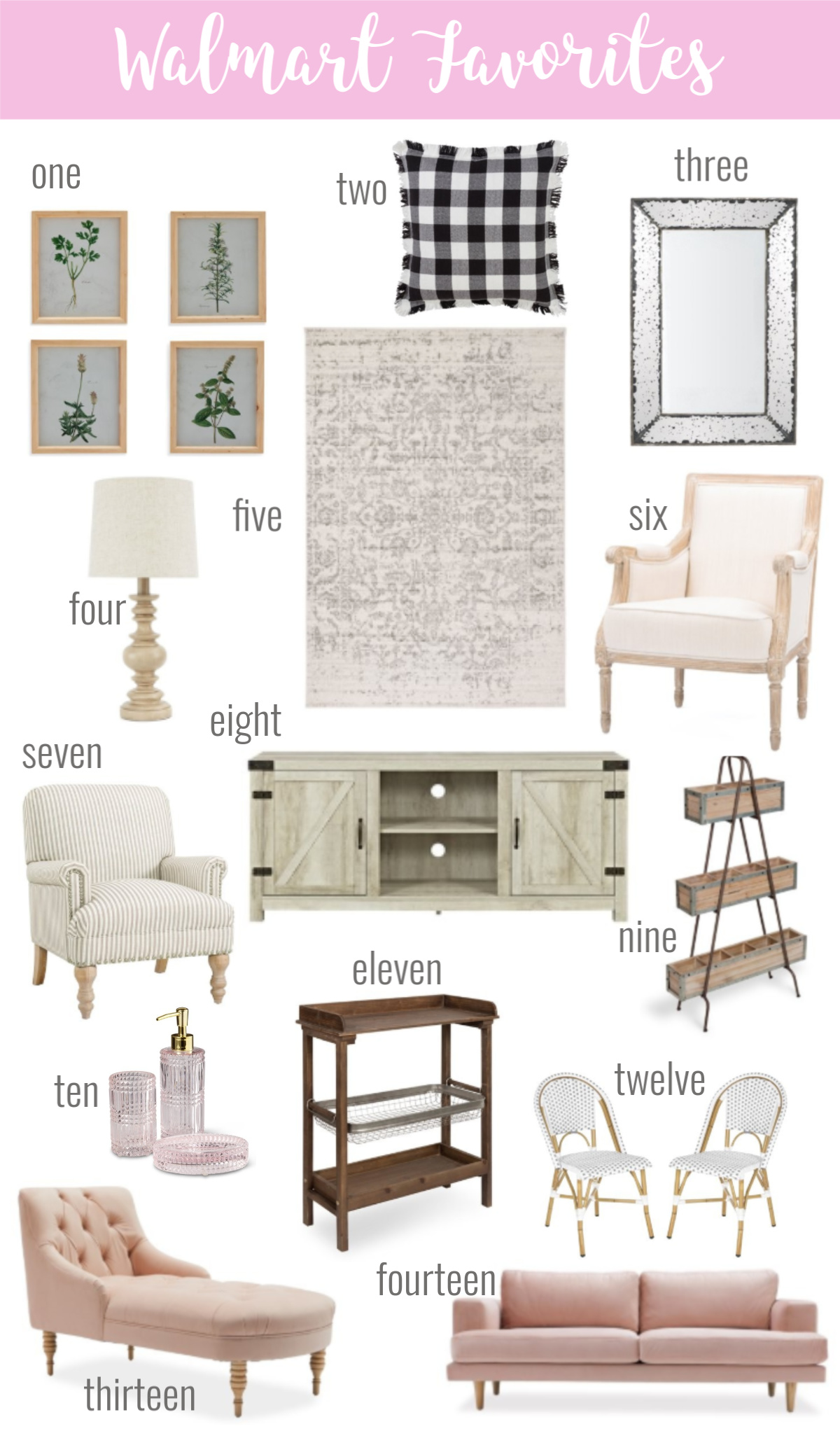 My Favorite Affordable Walmart Home Decor - Hello Gorgeous, by