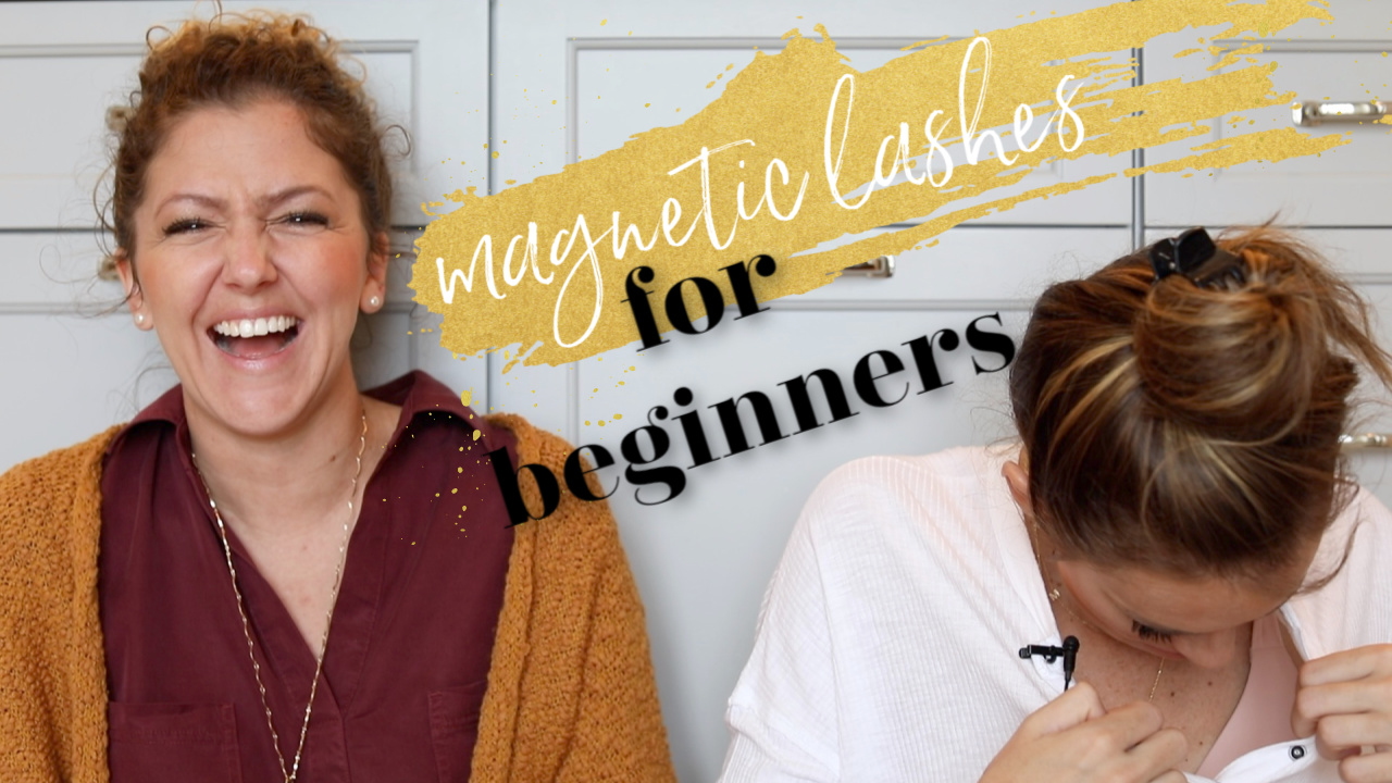 How to Apply Magnetic Lashes for Beginners