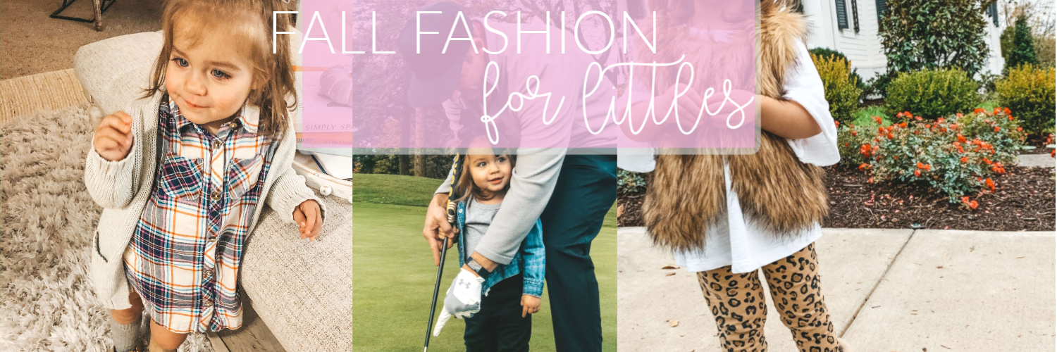 My Favorite Fall Pieces for Toddler Girls