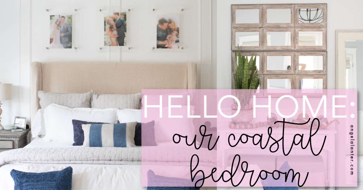 Our Coastal Master Bedroom Reveal