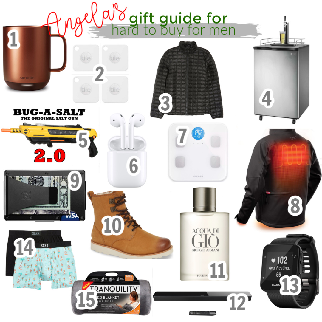 Gift Guide: Hard to Buy for Men angela lanter hello gorgeous