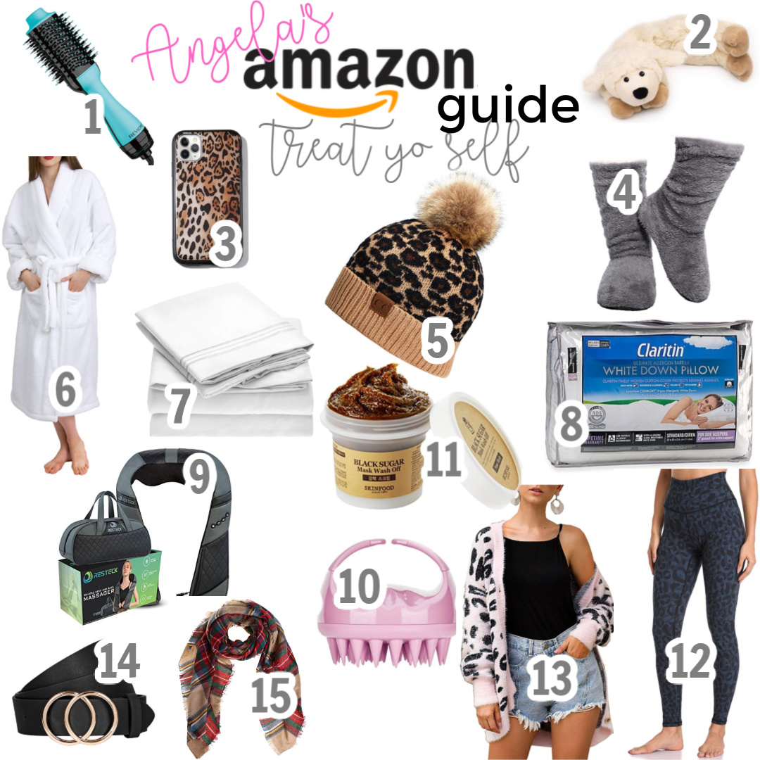 Treat Yo Self Amazon Gift Guide angela lanter hello gorgeous