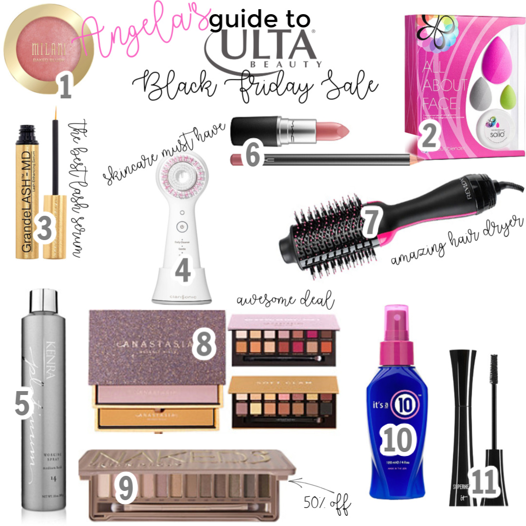 The Only Black Friday Post You'll Need angela lanter hello gorgeous ulta sale makeup