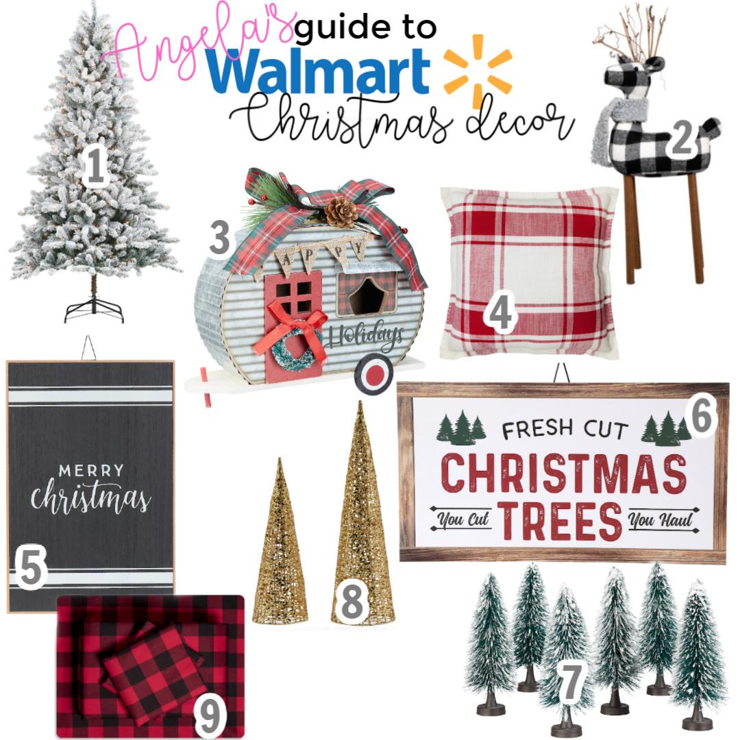 Walmart Christmas Decor Faves Angela Lanter Hello Gorgeous