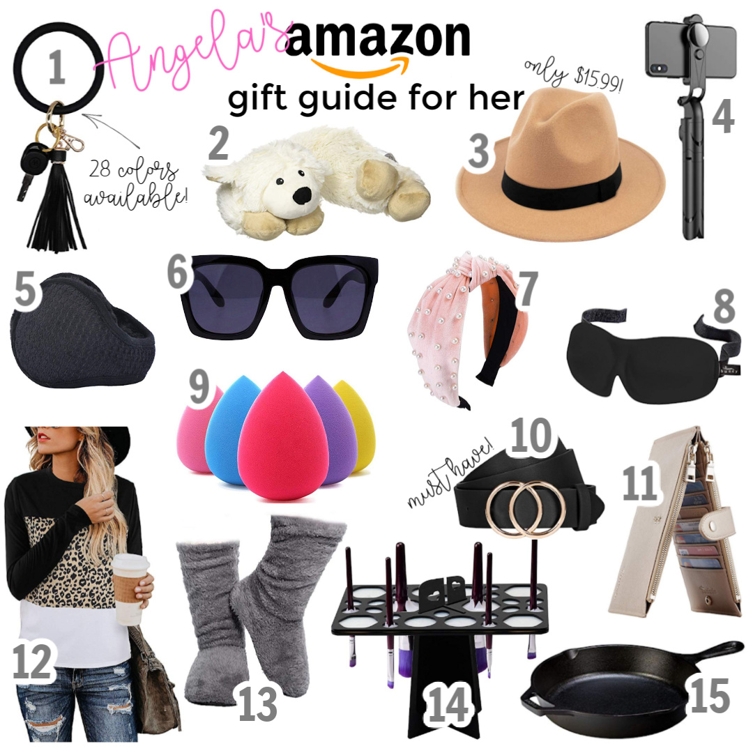 Amazon Gift Guide for Her 15 Presents Under $25 angela lanter hello gorgeous