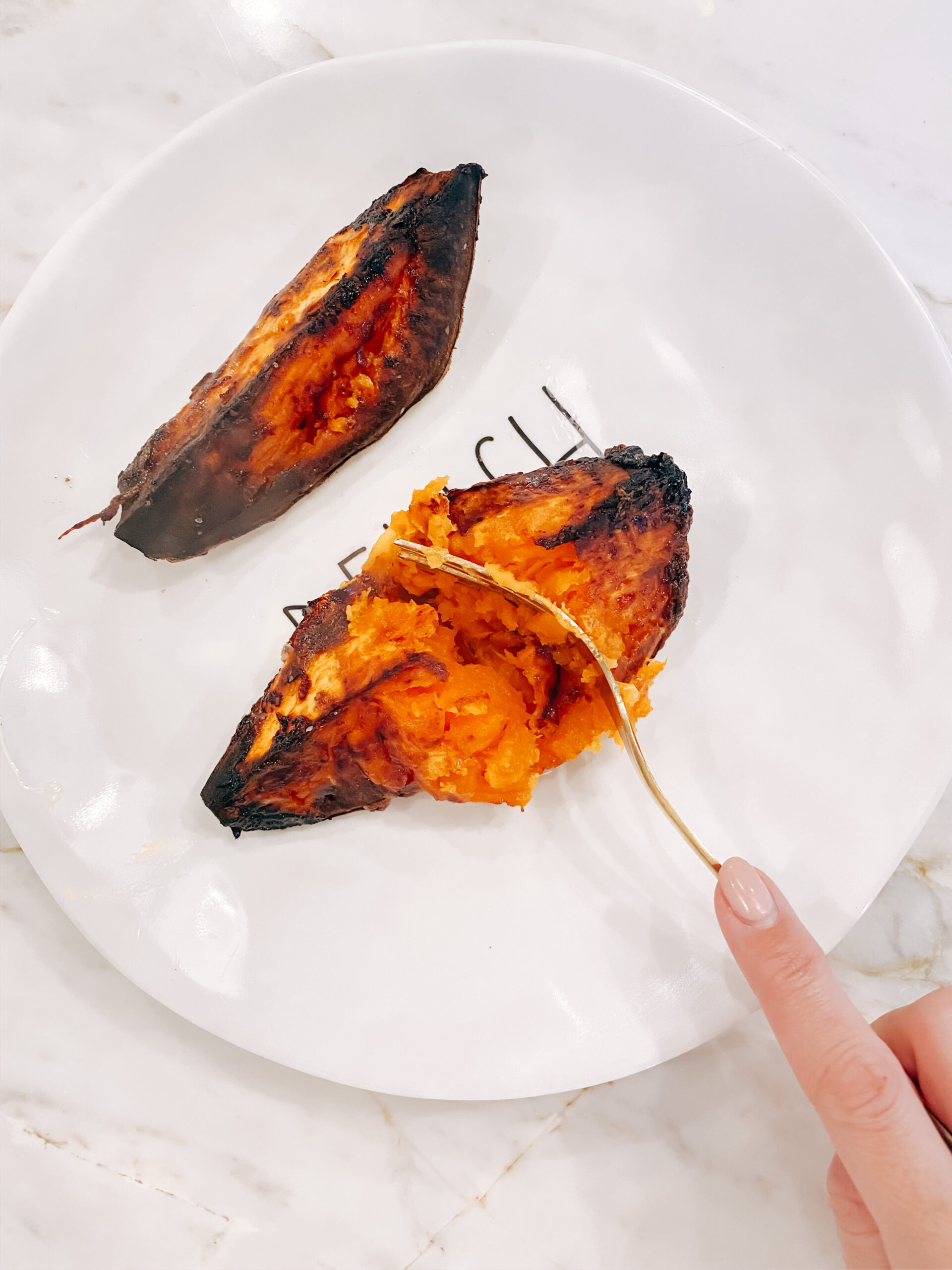 Healthy & Delicious Roasted Sweet Potatoes