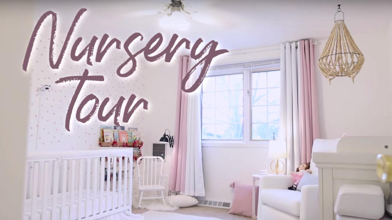 Kenny Girl's Nursery Tour in Ohio