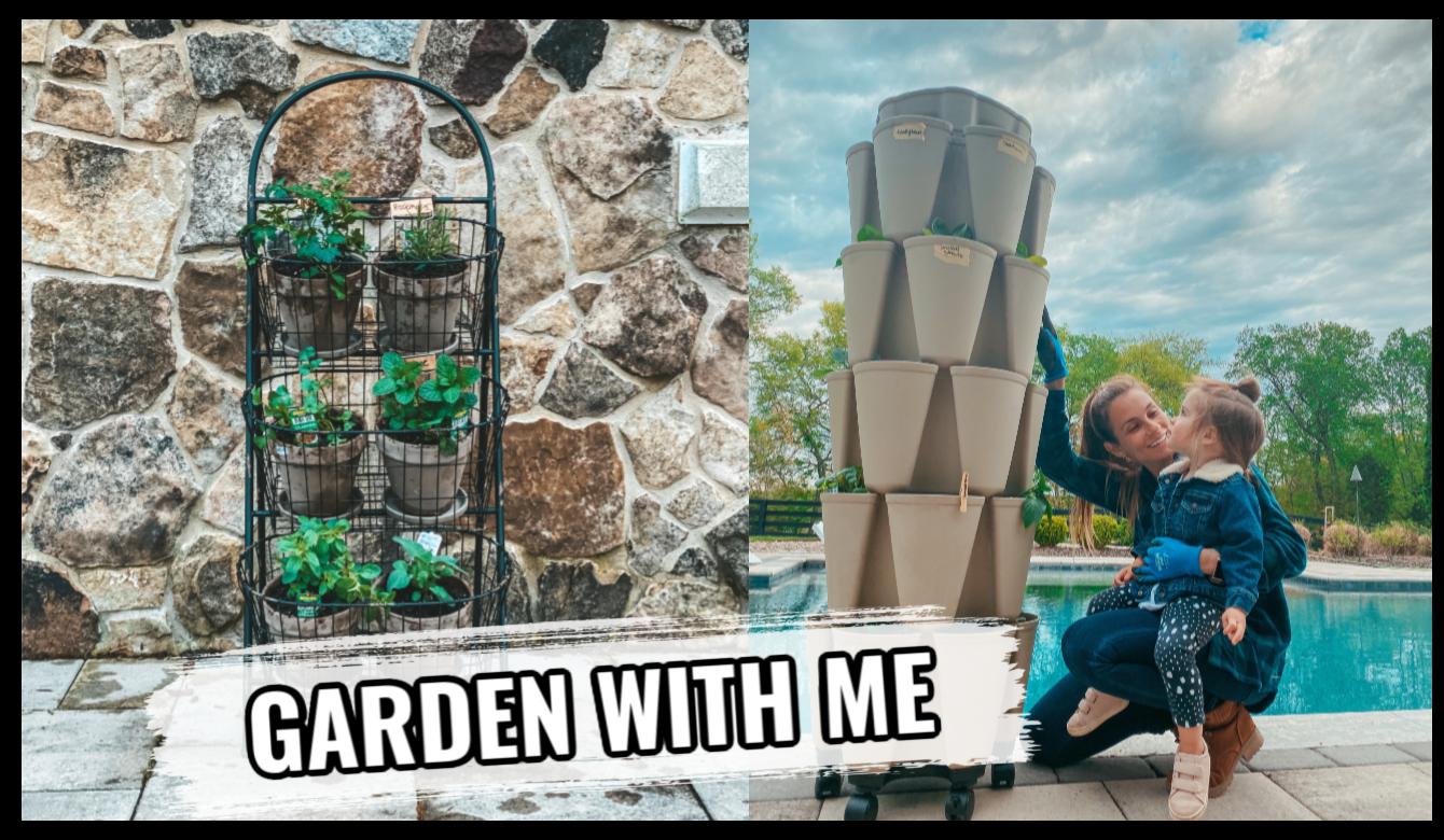 Vertical Garden Tower for Beginners