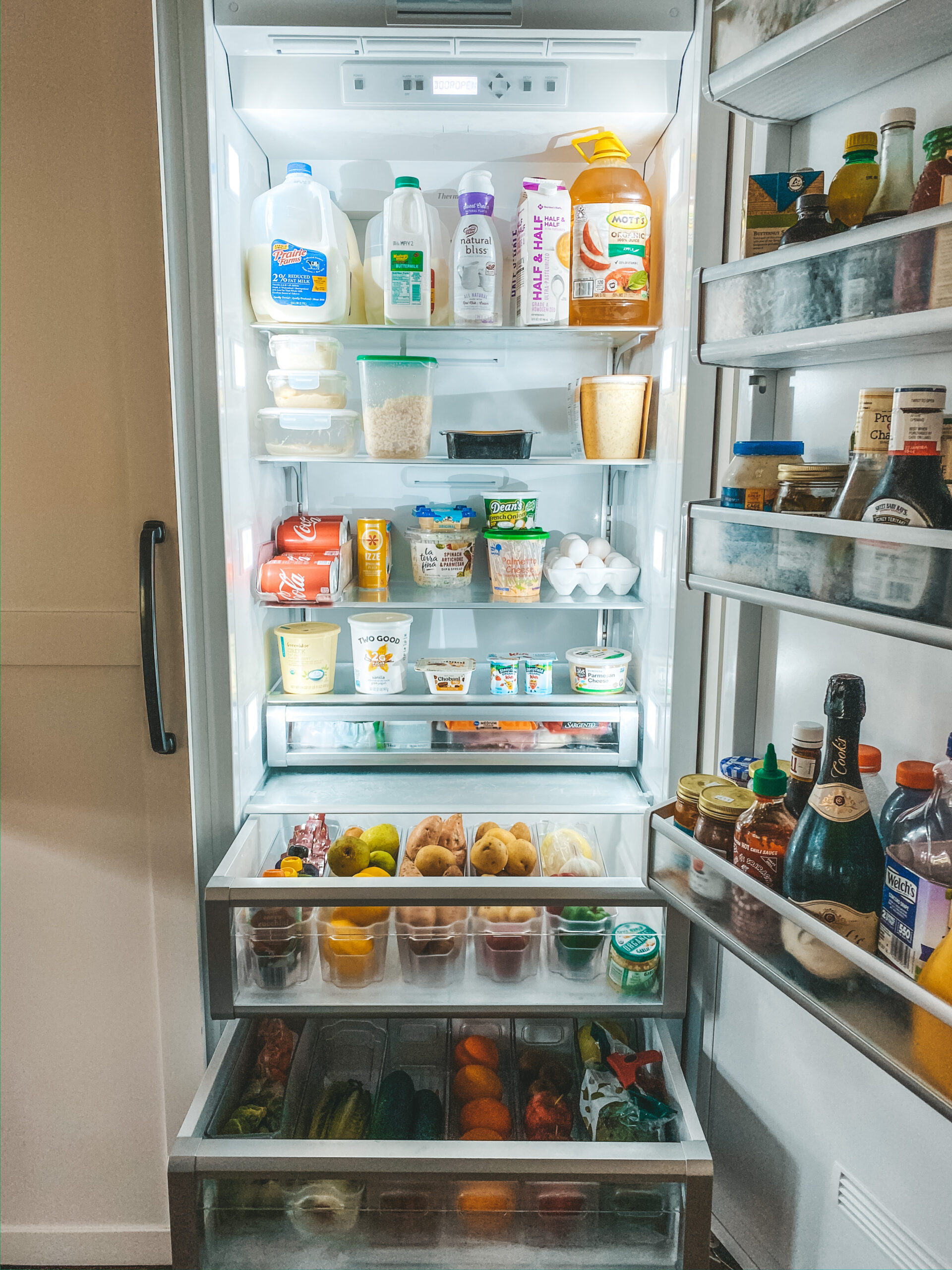 Spring Cleaning: Fridge Deep Clean + Organize