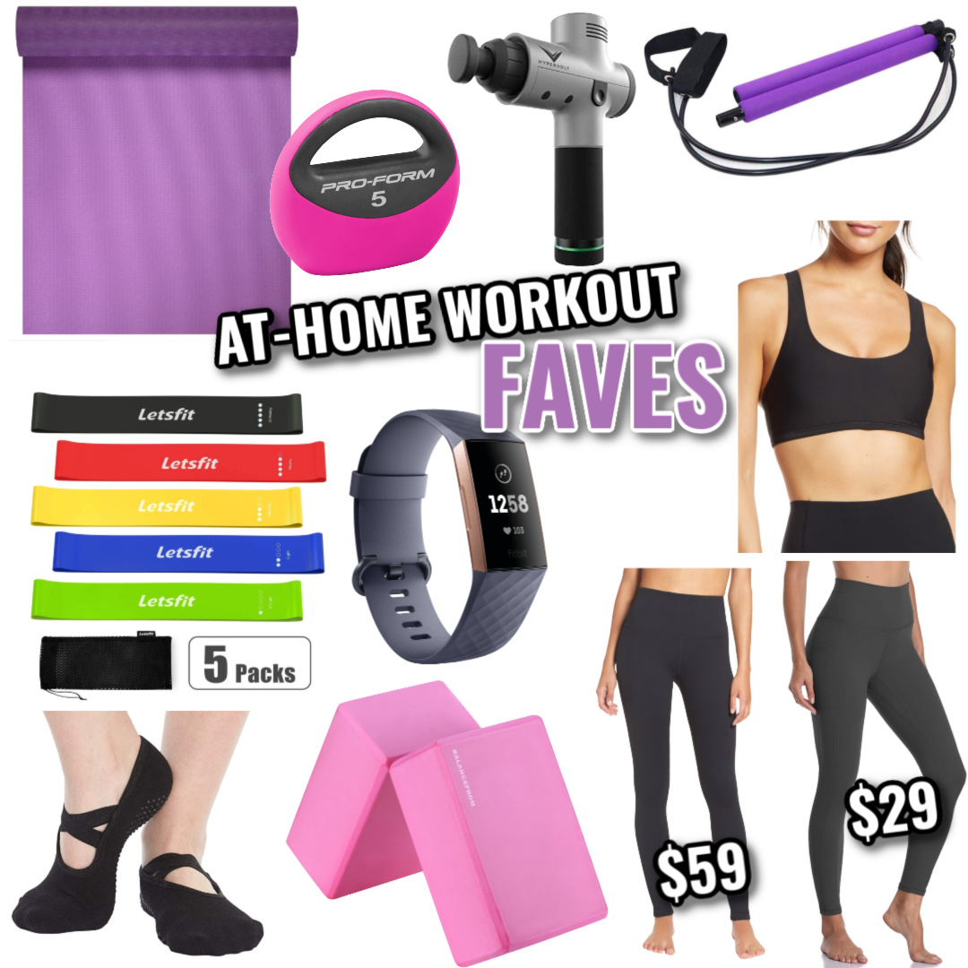 At-Home Workout Faves