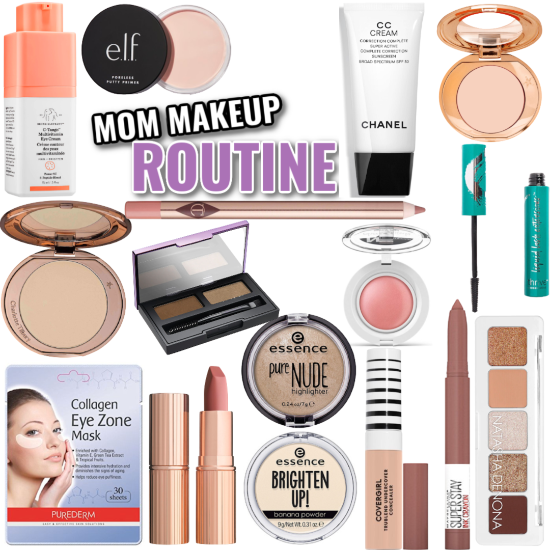 Mom Makeup Routine