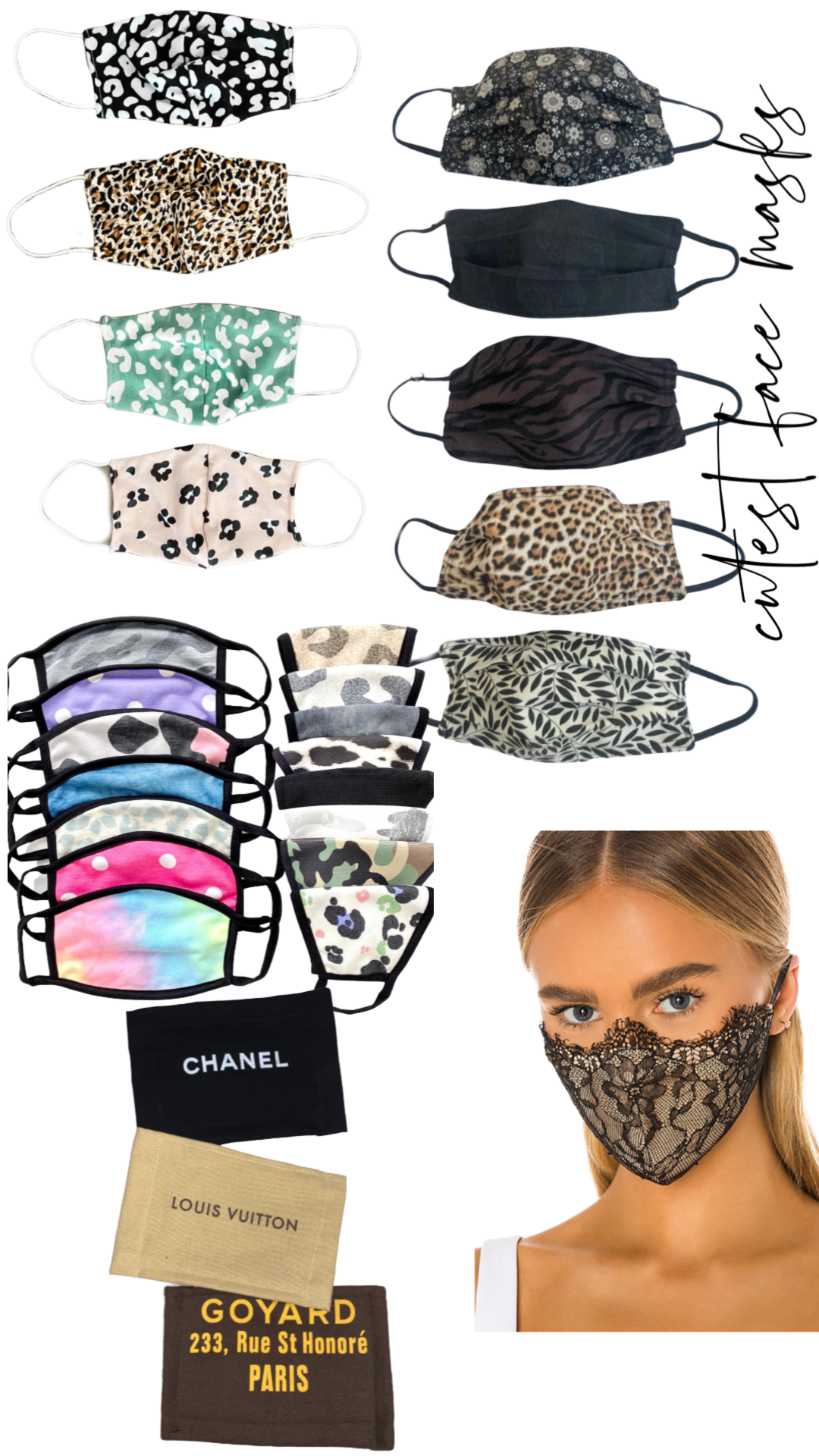 Face Masks That You Will Actually Want To Wear