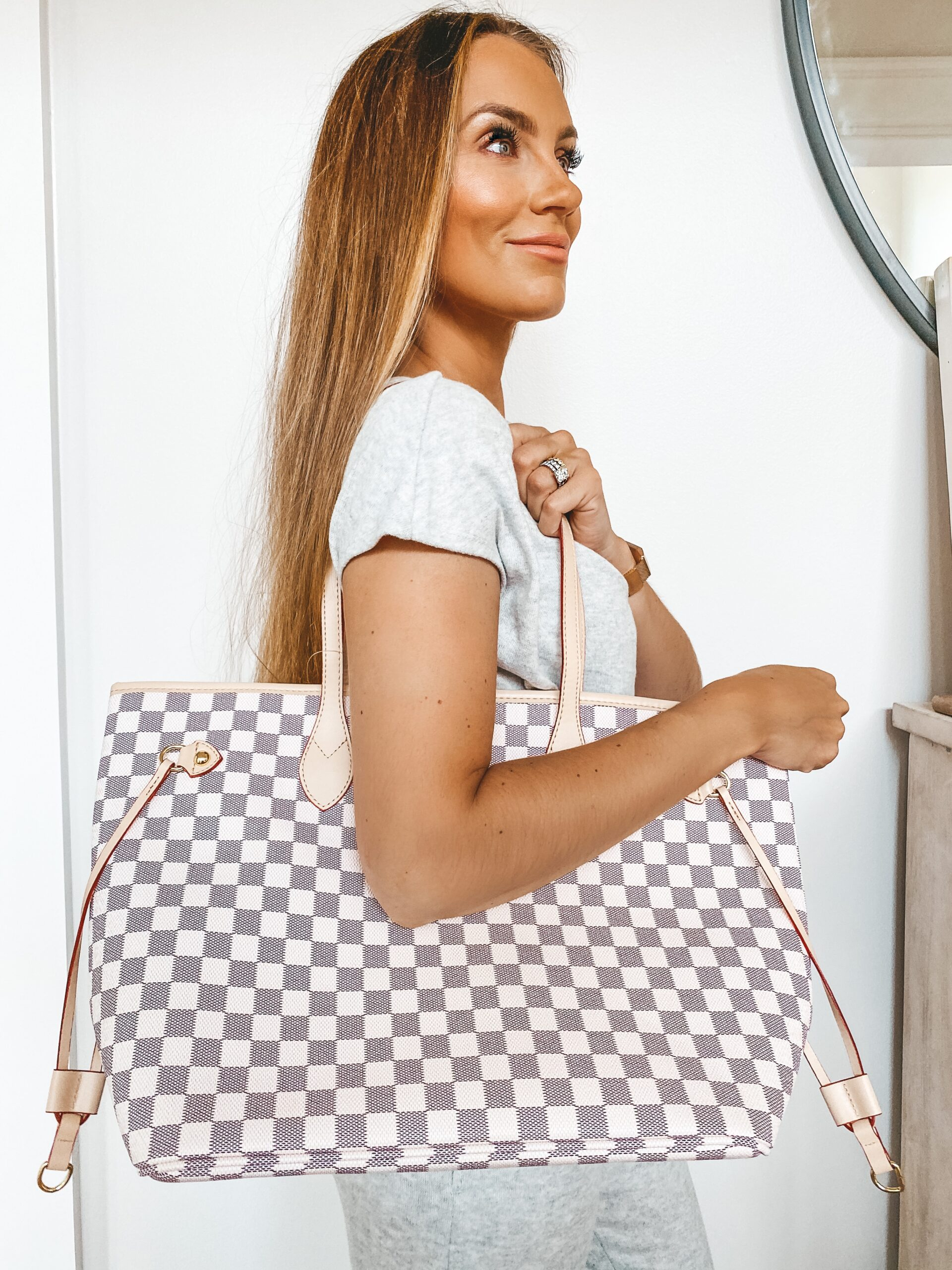 $1500 Louis Vuitton Bag vs $50 Walmart Dupe