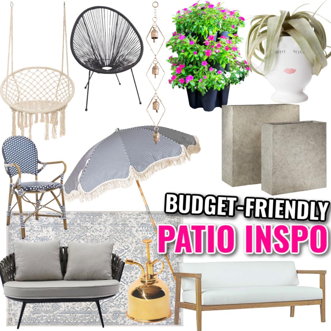 Patio Furniture and Decor Inspiration