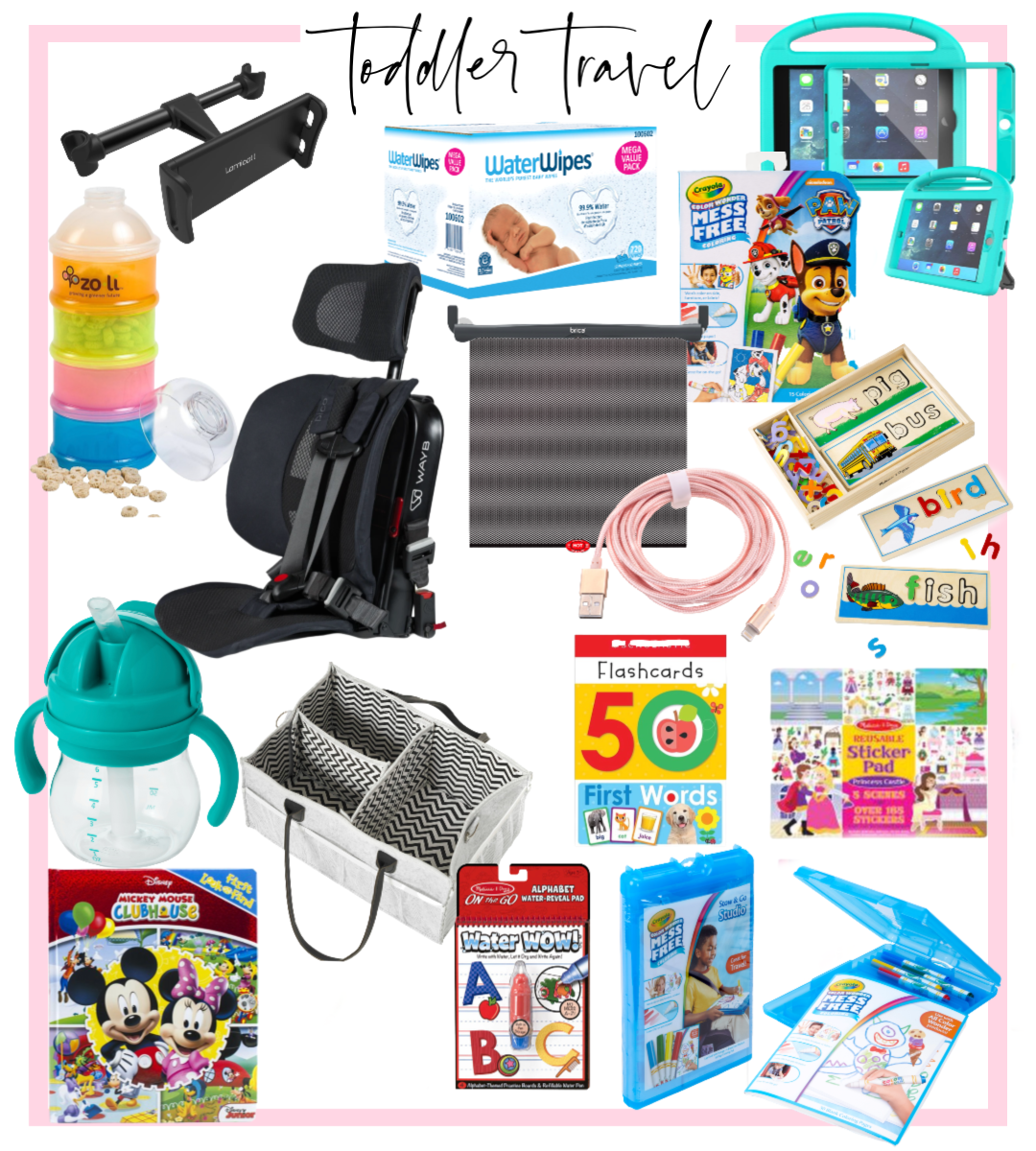 16 Things that make Road Trips with Your Toddler Easy