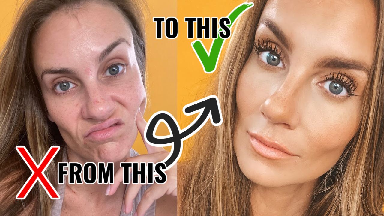 How to get Flawless Skin with NO Foundation!