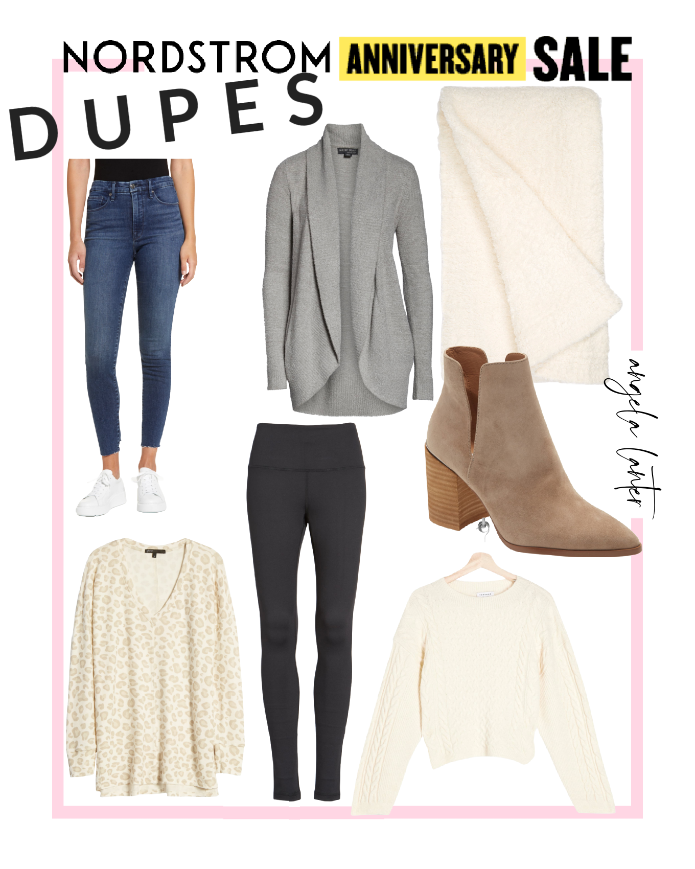Nordstrom Sale Dupes that will Save you Money!