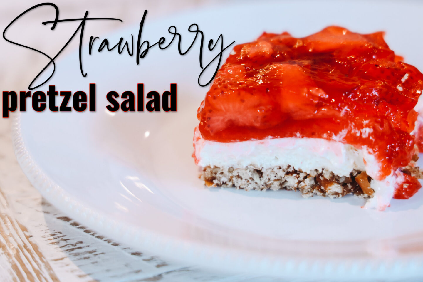 The Best Strawberry Pretzel Salad Recipe