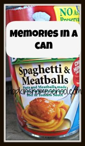 Memories in a Can