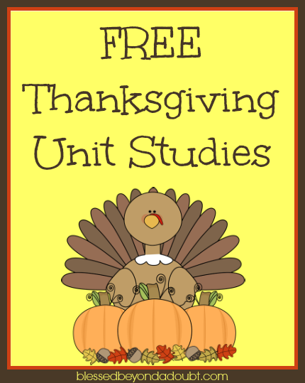 Free-Thanksgiving-Unit-Studies