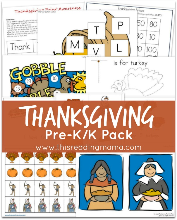 Thanksgiving-Pre-K-K-Pack