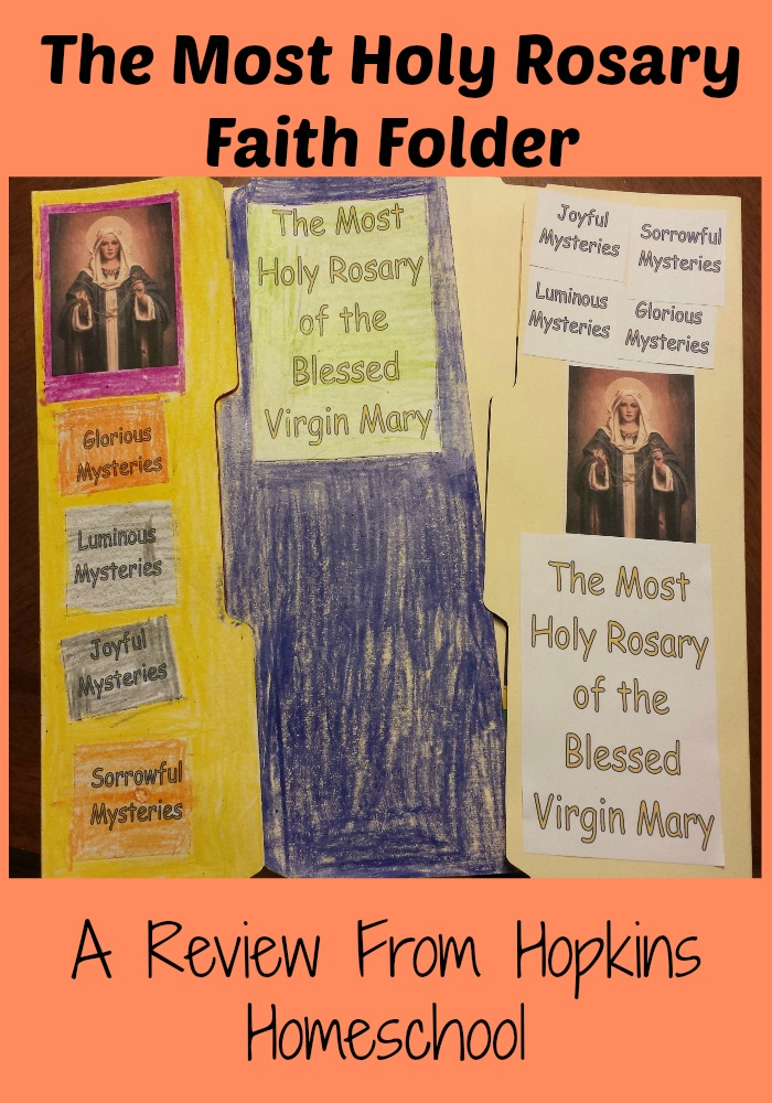A Review of The Most Holy Rosary Faith Folder