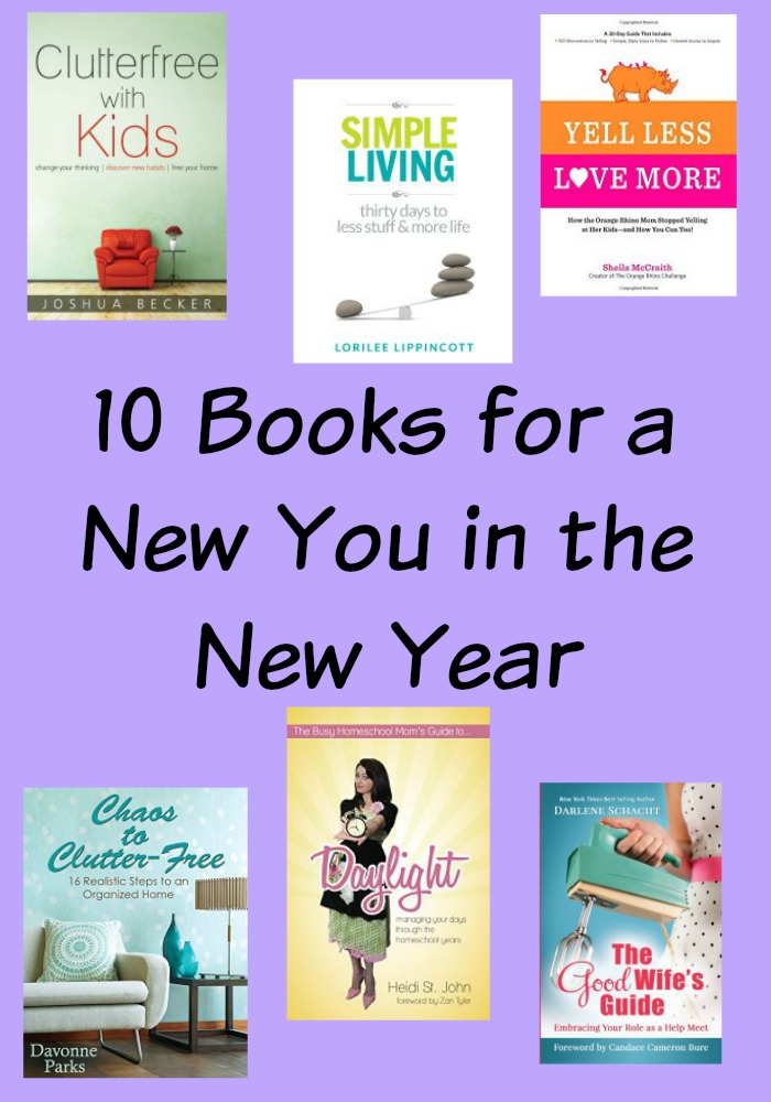 10 Books for a New You in the New Year