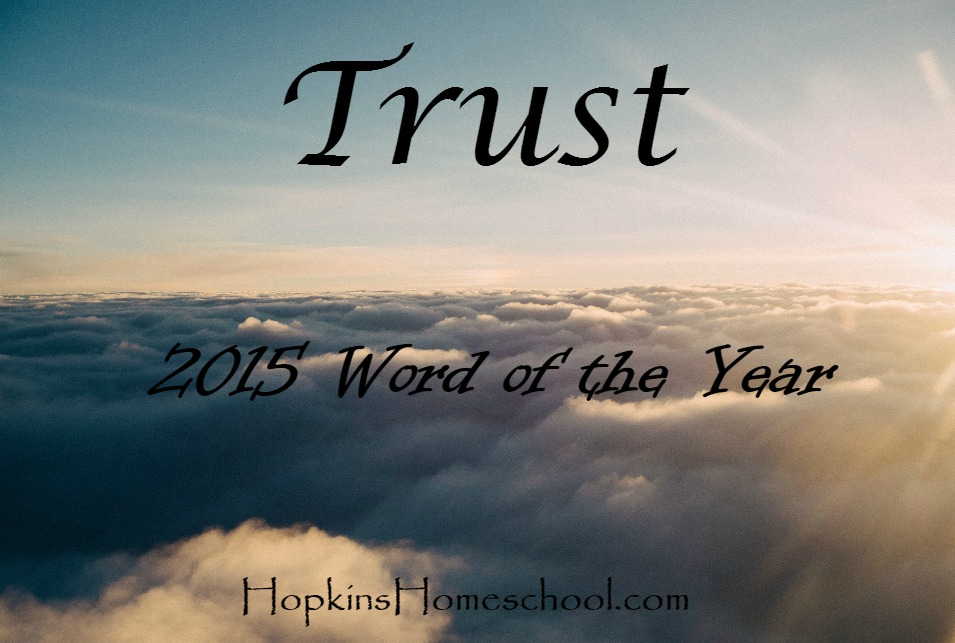 Trust 2015 Word of the Year
