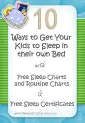 How to get your kids to bed