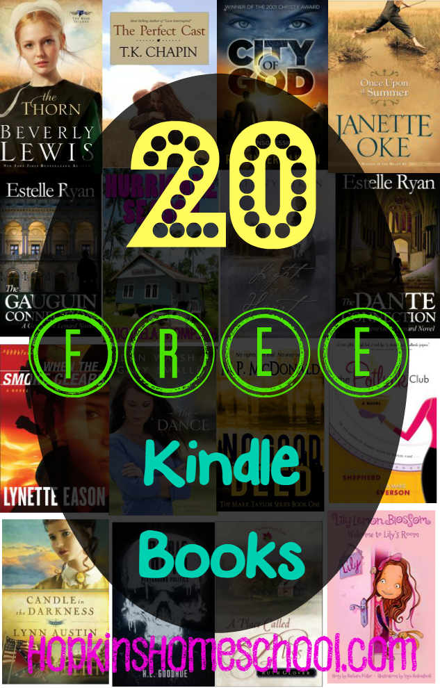 20 Free Kindle Books