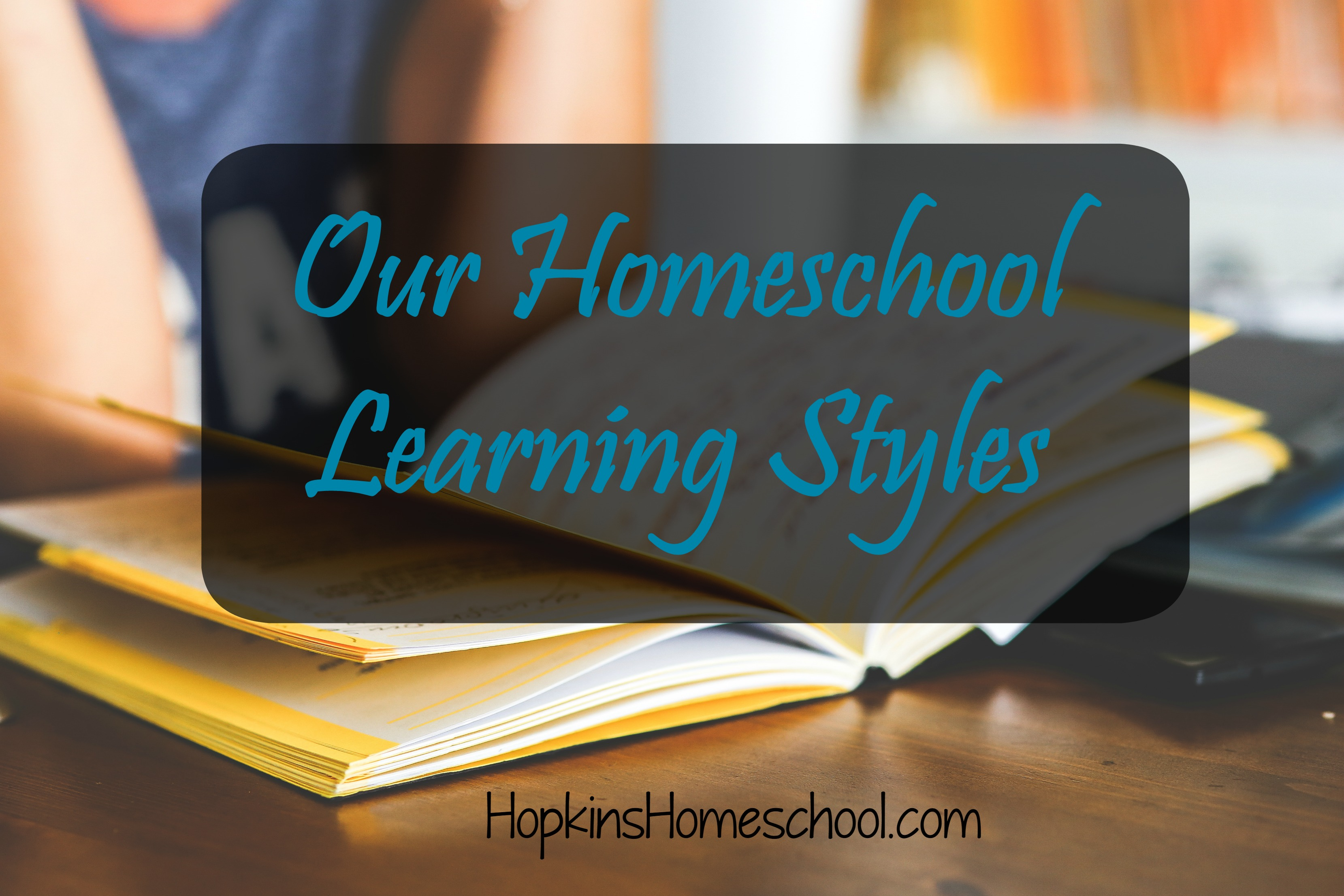 Our homeschool styles