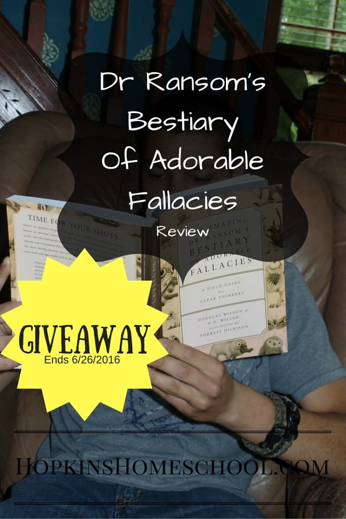 Dr Ransoms Fallacies Giveaway