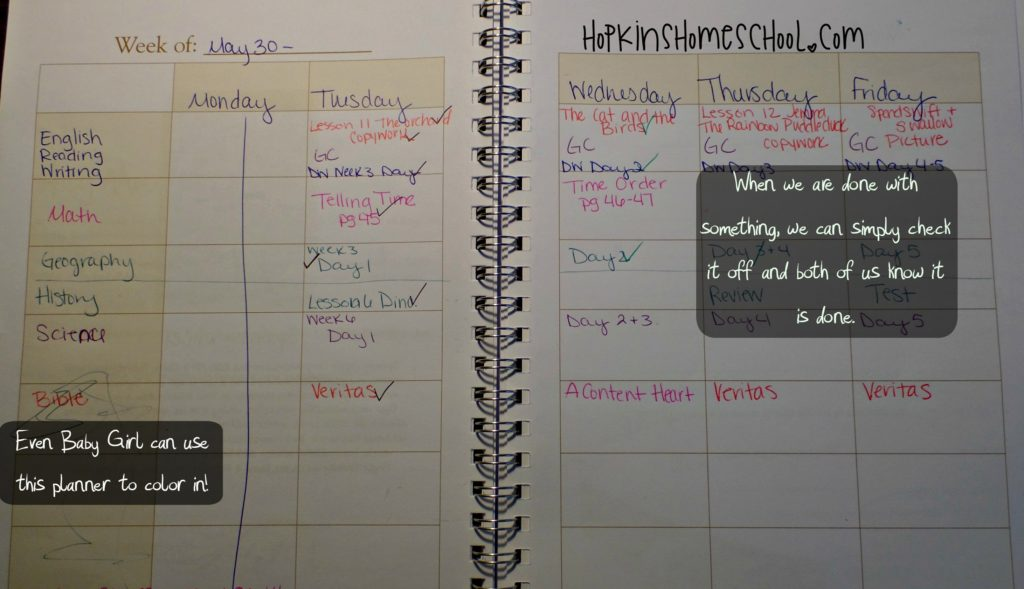 Monthly Planning Pages