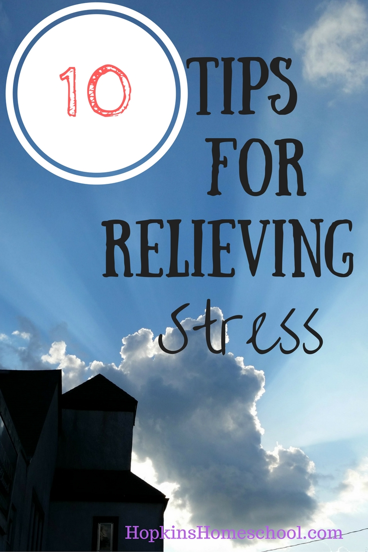 10 Tips for Stress Relief
