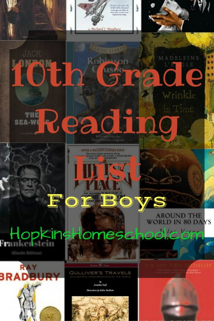 10th Grade Reading List