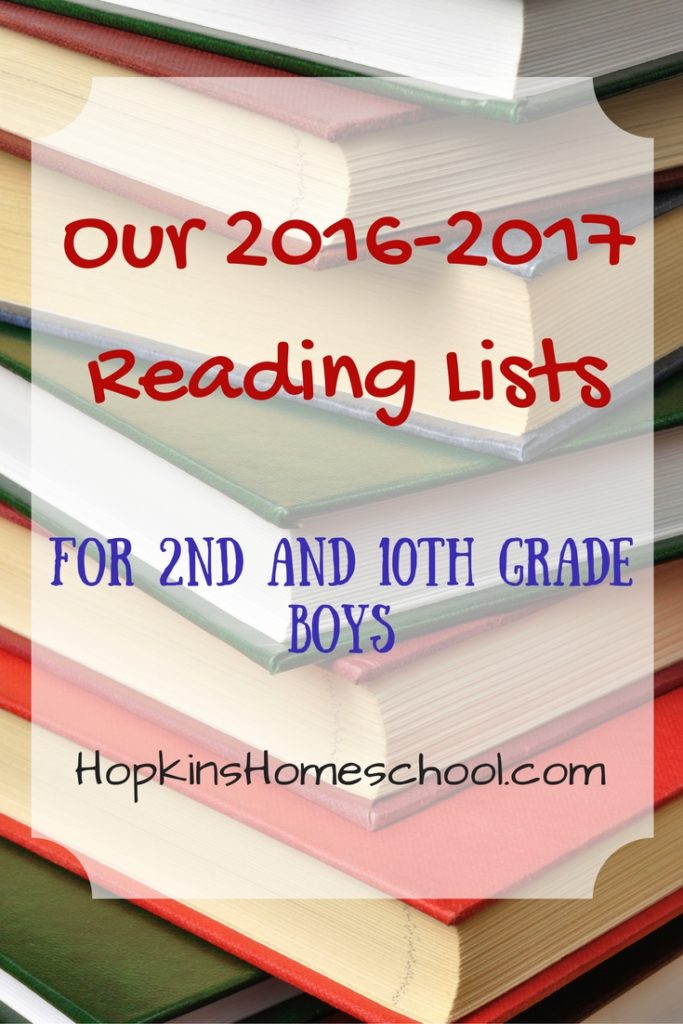 Our 2016-2017 Reading Lists