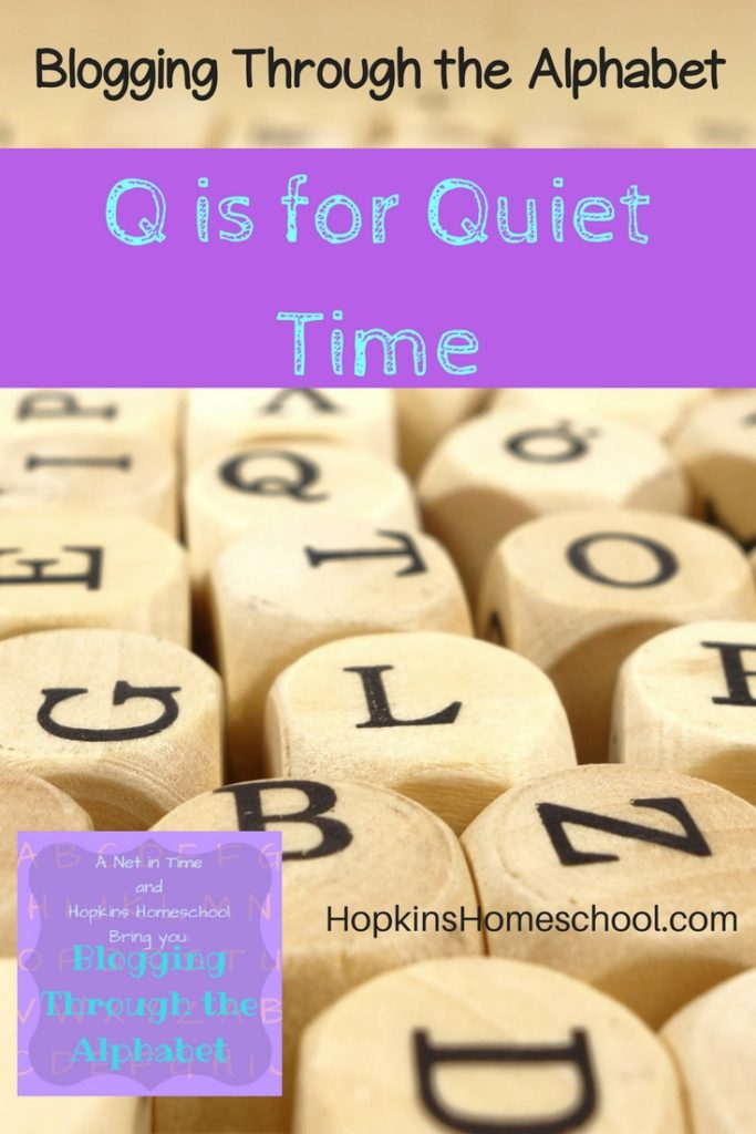 quiet time, alphabet